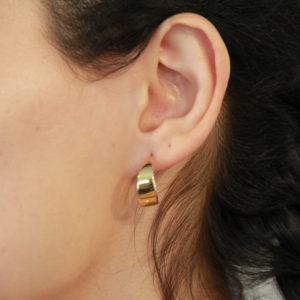 Medium Hoop Earring-1