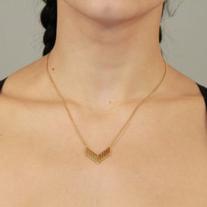 Once Palos Necklace-Yellow Gold